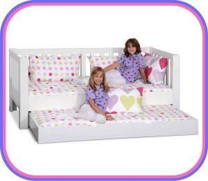 Kinderbett LISTO mit Gästebett / Funktionsbett von SALTO - Möbel für Kinder / München