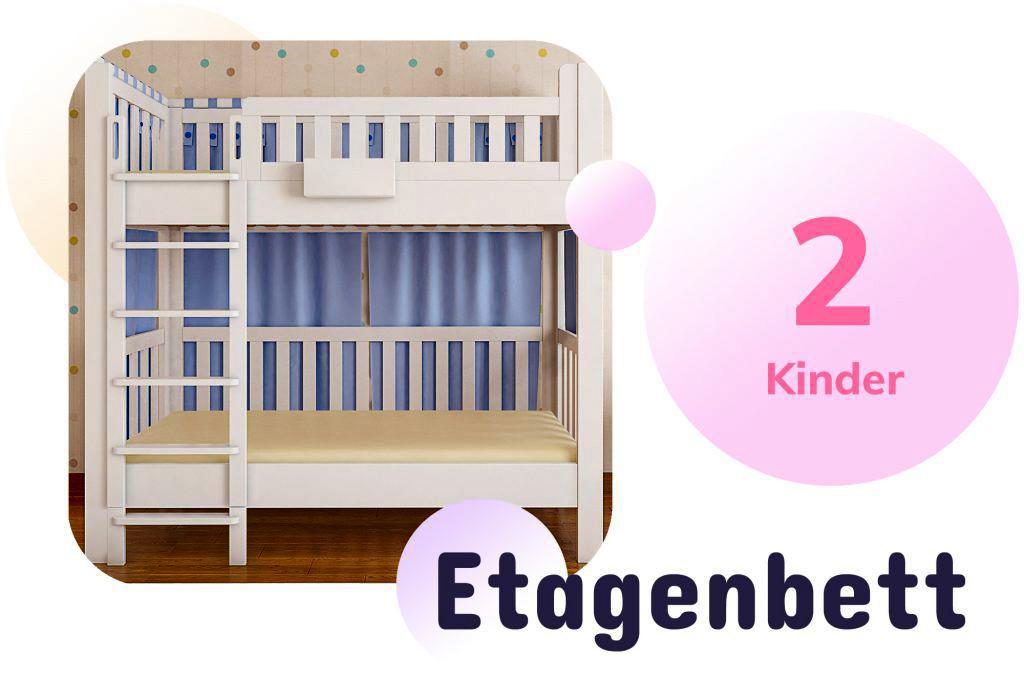 Kinderbett LISTOflex als Etagenbett / SALTO Möbel für Kinder / München