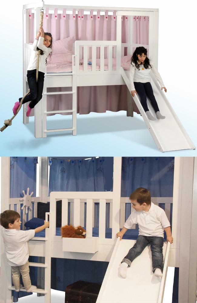 Kinderbett mit Rutsche / SALTO Kinderbetten München