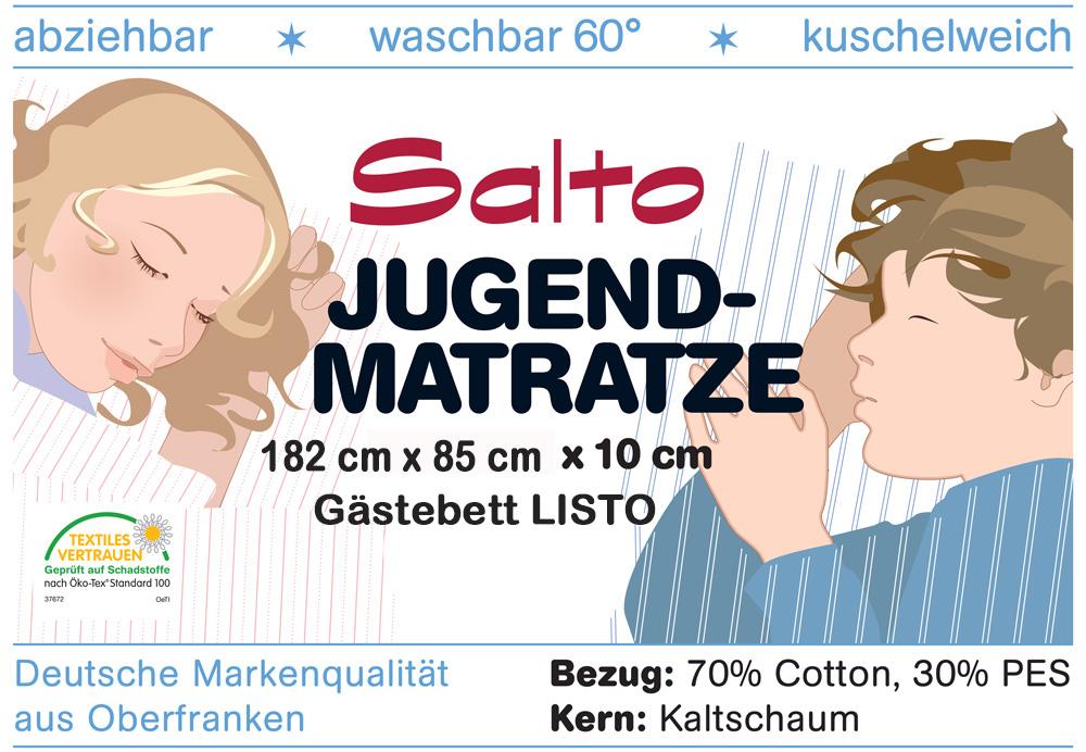 Matratze für das Gästebett LISTO / Salto Kindermöbel München