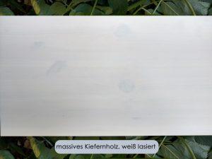 Kinderbett LISTOflex-pino aus weiss lasiertem Kiefernholz